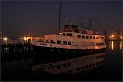 Kiel at night