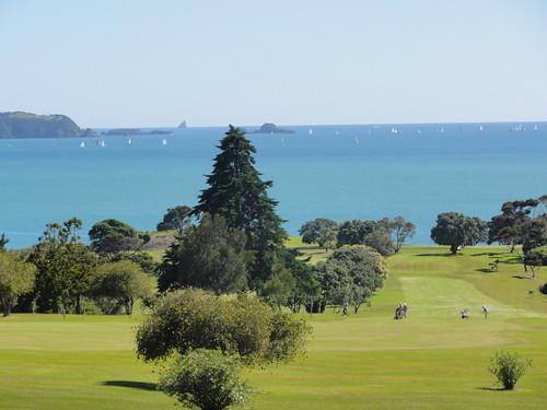 Golf course next to Waitanga Treaty House