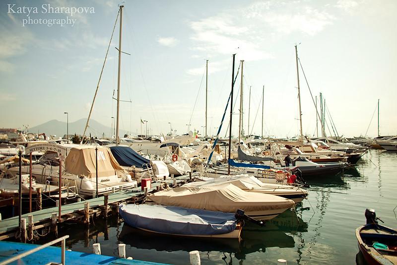 день в солнечном городе Неаполь