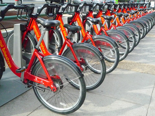 Bikeshare bicycles