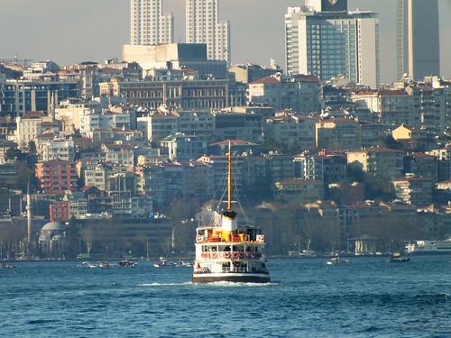 Istanbul Bosphorus view