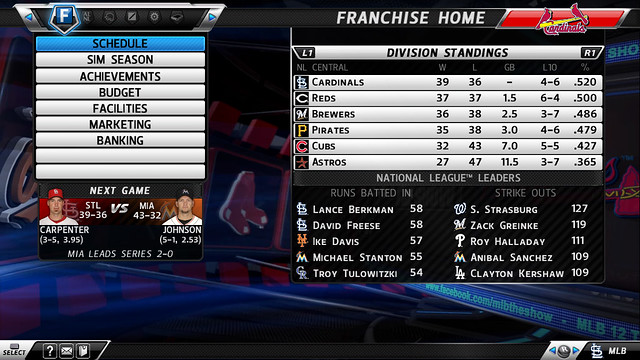 Franchise Home