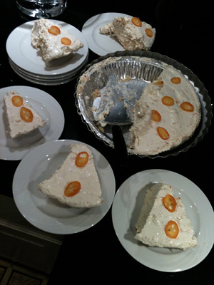 Slices of Kumquat Pie