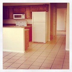 Our new apartment. Can't wait to fix it up.