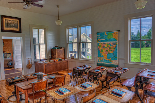 Classroom in Fort Christmas
