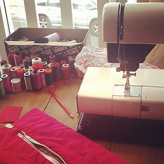 Sewing time #crafts #job #fabrics #ilovesaturday
