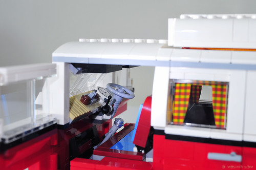 LEGO VW Camper Van - build pics