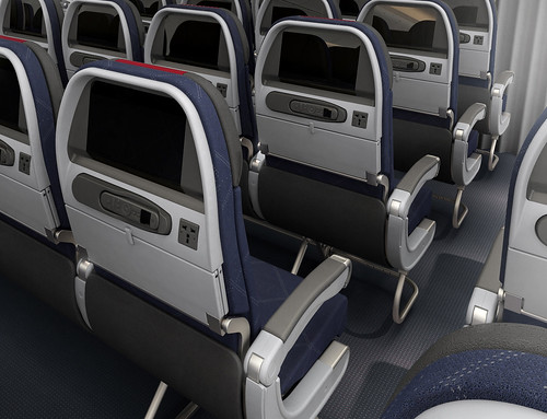 American 777-300ER Coach Class