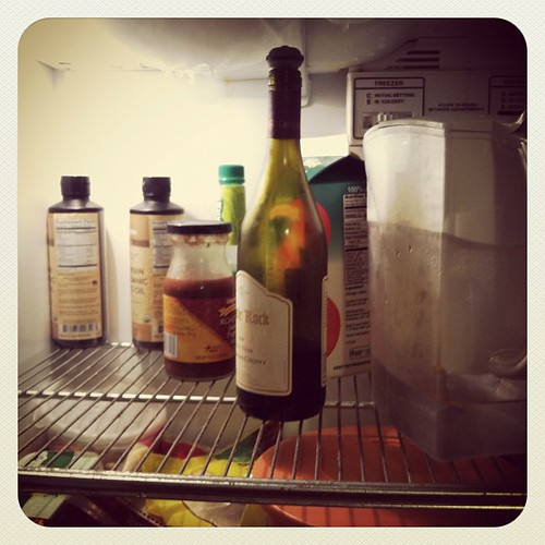 "#janphotoaday Jan 29 ""inside you fridge"""