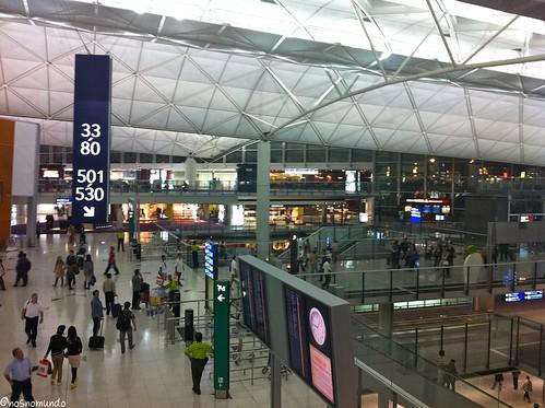 Aeroporto de Hong Kong: o melhor do mundo!