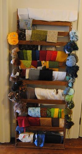 Yarn ball hangers