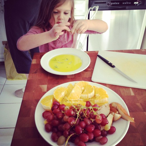 Making breakfast w. Nonna
