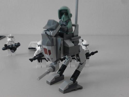 lego clone walker instructions