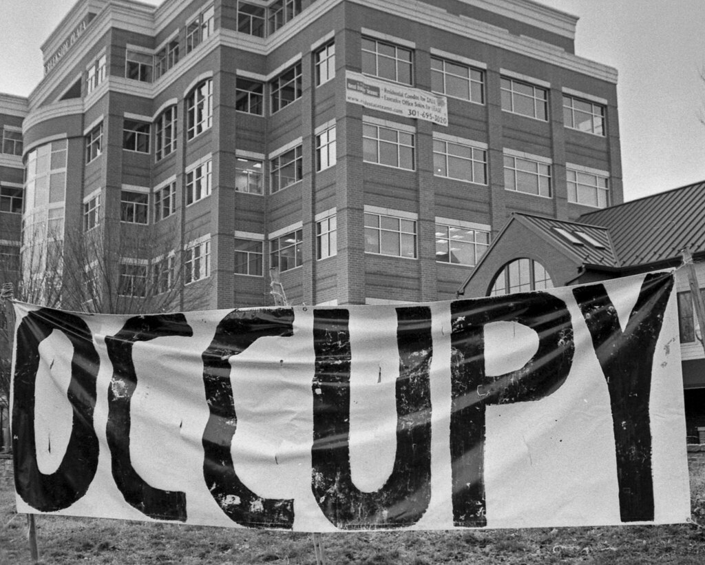 Activism takes a front row seat before downtown Frederick's ritzy condos.