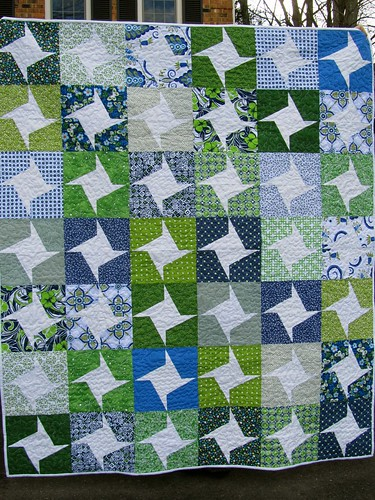 Great Lakes Quilt Front
