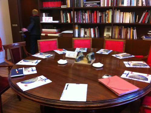 Madrid | Biblioteca Nacional de España | Mesa de trabajo