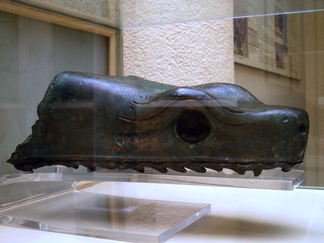 Head of a serpent belonging to the Column at the Hippodrome, from Sultanahmet, first half of 5th century BC, Istanbul Archeology Museum