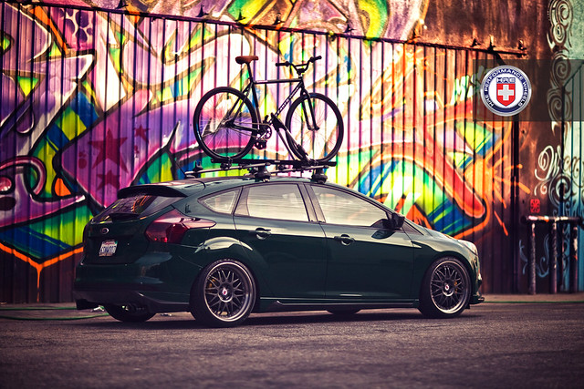 Ford Focus on HRE C90