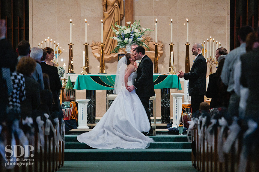 Most Pure Heart of Mary Topeka wedding
