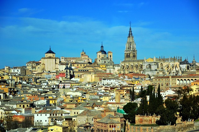 Historical Toledo on a Cool, Sunny Winter Day