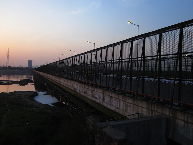 Bridge over the Yamuna, Delhi