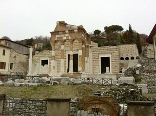 Roman Theater Brescia Italy