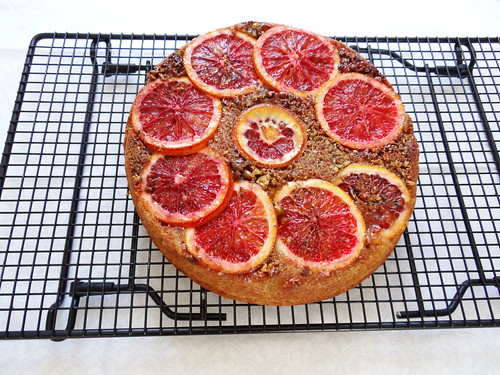 blood orange pistachio polenta cake height=