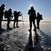 Skating the swedish lake Foxen