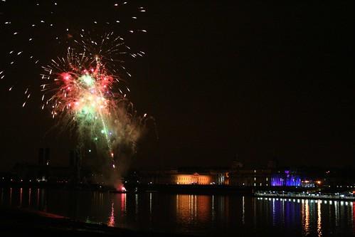 Royal Greenwich Celebrations Fireworks