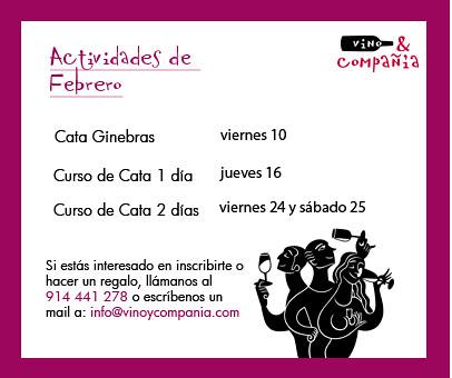 Cursos de Cata Febrero 2012