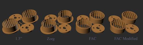 3PO Eye Styles for Shapeways