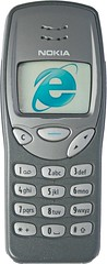 Nokia 3210 running IE6