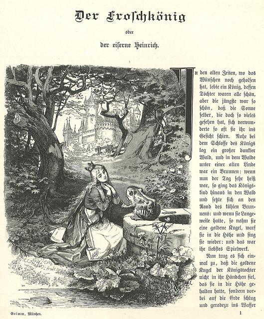 Brüder Grimm / Kinder- und Hausmärchen / Bild 01