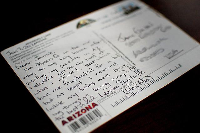 Arizone Postcard