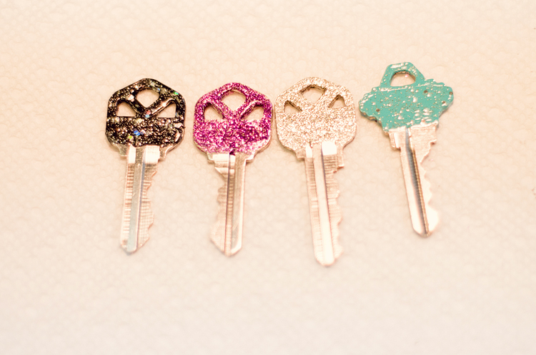 glitter keys-2