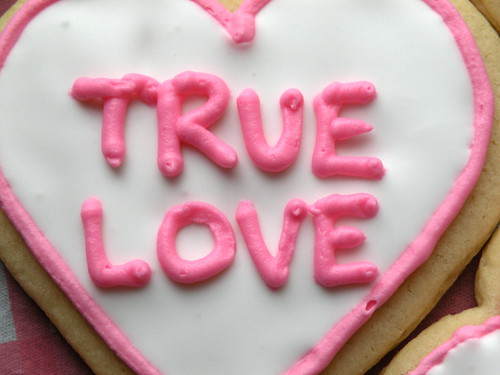 MF Conversation Heart Cookie