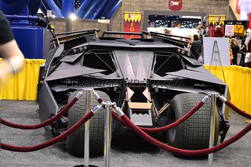 BATMAN BAT MOBILE  Tumbler  Private Island Party @ Halloween & Party Expo 2012
