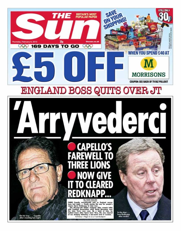 6843576653 897189f3f6 b Picture Special: Capello Out, Redknapp In