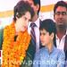 Kids join mother Priyanka Gandhi Vadra in Amethi (27)