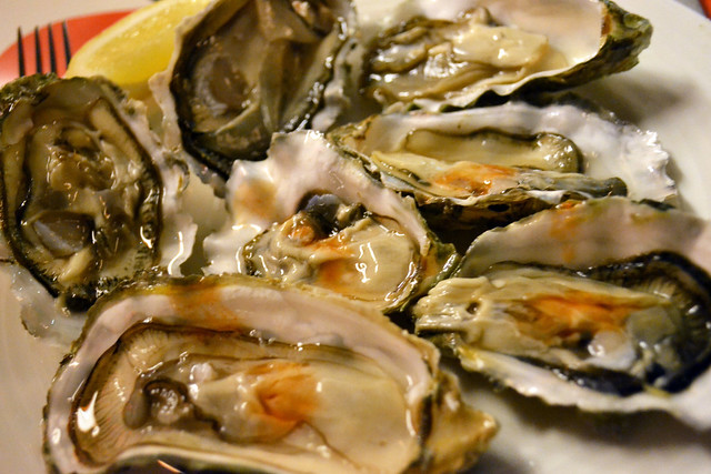 Freshly Shucked Oysters, The Line, Shangri-la Hotel