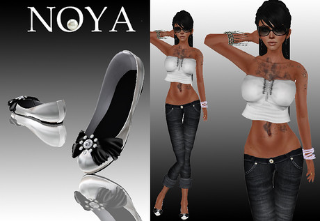 **NOYA** [PROMO] Trinidad Pure White Outfit with shoes, 150 lindens by Cherokeeh Asteria
