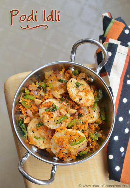 Podi idli recipe easy idli varieties sharmis passions podi idli recipe forumfinder Images