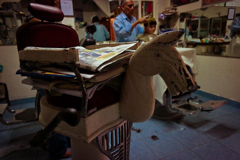 Santos' Barber Shop in Colonia El Pedregal Tegucigalpa, Honduras