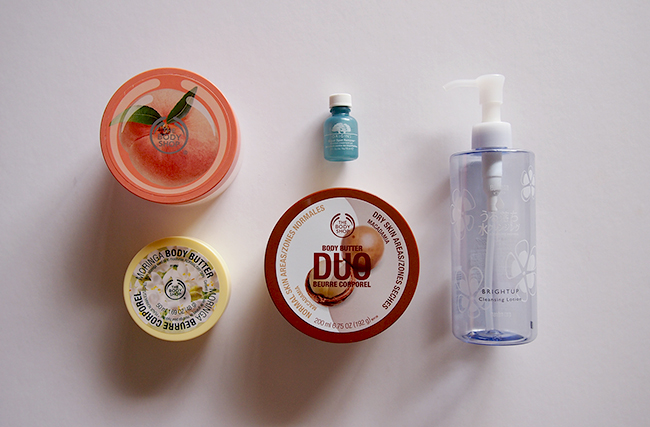 the body shop, origins, bifesta