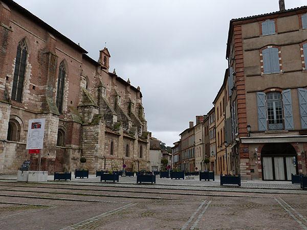 place abbaye