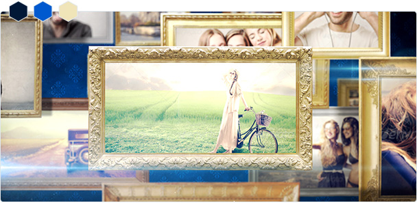 Custom-Color Old Frame Big Slideshow 1
