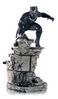 Iron Studios 美國隊長3:英雄內戰【黑豹】Black Panther 1/4 比例全身場景雕像