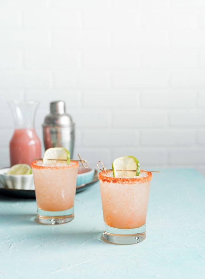 Li Hing Guava Margaritas www.pineappleandcoconut.com #CincoDeMayo #Margarita