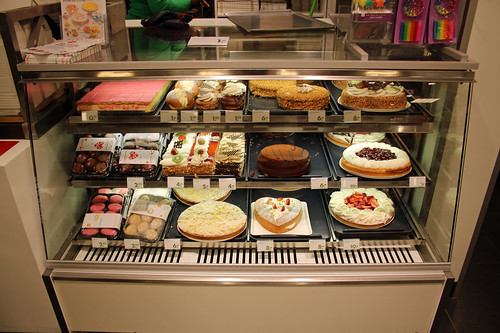 cakes and pastries at HEMA