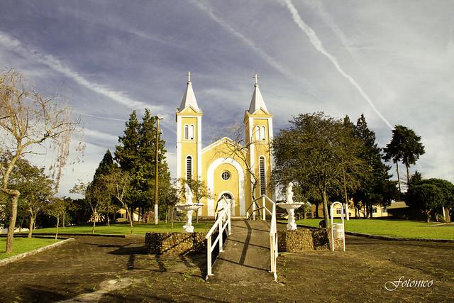 Igreja de Imbuia (SC).